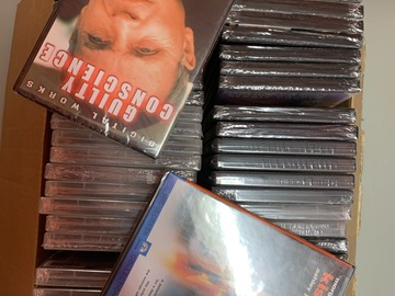 Liquidation/Wholesale Lot: Lot of 40 DVDs New in Package Movies and Television