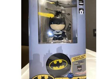 Liquidation/Wholesale Lot: Batman Figures Remote Control Helicopter Toys Lot of 4