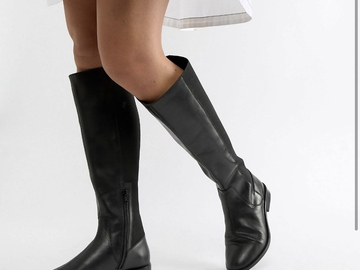 Selling without online payment: Asos wide-fit riding boots