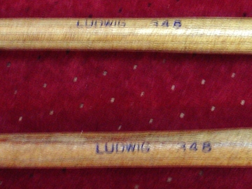 Selling with online payment: Pair of Ludwig 1950-60 # 348 Tympani sticks