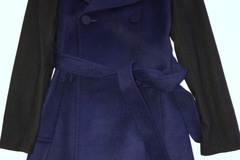 Selling: Black & Blue contrast winter coat