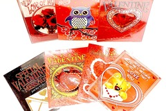 Liquidation/Wholesale Lot: Asst Large Valentine's Day Greeting Cards (9″ X 7″)