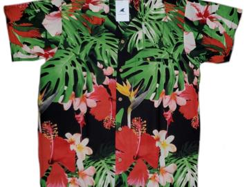 Liquidación / Lote Mayorista: Hawaiian Shirts Wholesale Lot of 36