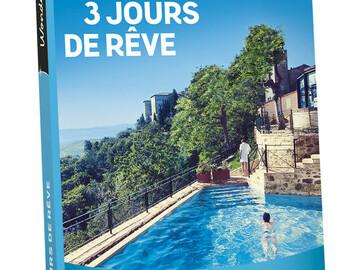 """Vente: Lot de 10 E-coffrets Wonderbox """"3 jours de rêve"""" (1199€)"""