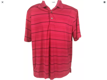 Liquidation/Wholesale Lot: Wholesale Lot Men's Polo Shirts Golf Wear Preowned Lot of 24