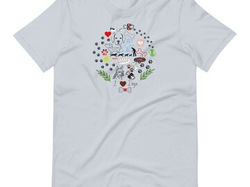 Selling: Fundraising T-Shirt - I Love Dogs