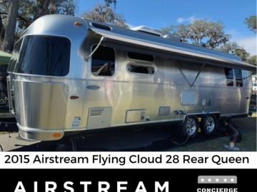 Trailer Sales: 2015 Airstream Flying Cloud 28 RB - Florida