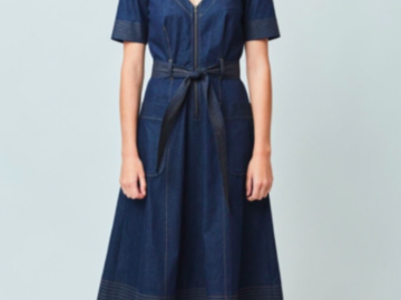 Selling: Denim Midi Dress - Immaculate condition