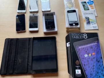 À vendre: Lot d'iPhones pour pièces