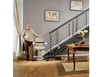 SALE: Self-Installable Straight Stairlift Kit | Delivery in Canada