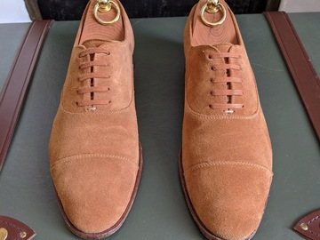 Selling with online payment: Caulaincourt Unlined Suede Oxfords