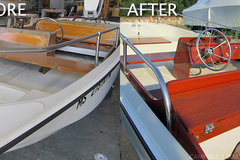 Offering: boat maintenance, glass and wood work - Pensacola, Fl
