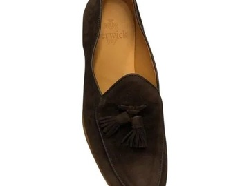 Selling with online payment: Berwick 1707 belgian loafer 7.5 UK