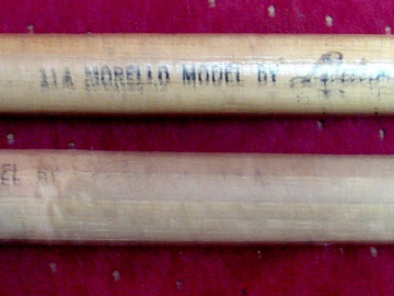 Selling with online payment: 1950-60s LUDWIG Joe Morello model 11A drumsticks