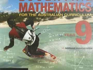 Selling with online payment: Essential Mathematics for the Australian Curriculum - Year 9