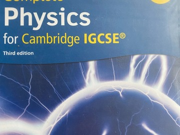 Selling with online payment: Complete Physics for Cambridge IGCSE