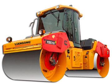 En alquiler: Compactador Liangong Doble Listo YZC12 (12 Tn)