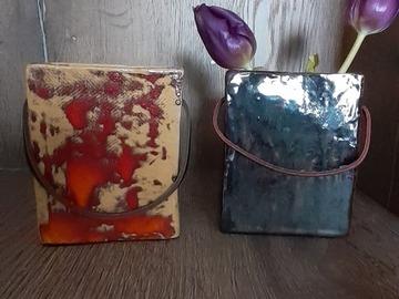 Sale retail: Petit  vase-sac