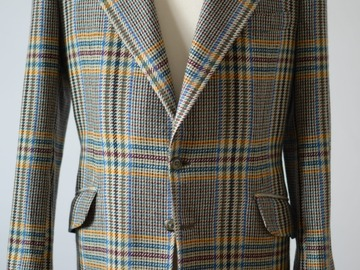 Selling with online payment: CREED bespoke jacket