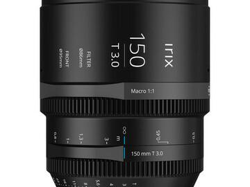 Vermieten: IRIX 150mm T3.0 Macro 1:1 Cine Lens