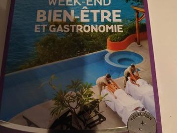 """Vente: Coffret Wonderbox """"Week-end bien être et gastronomique"""" (279,90€)"""