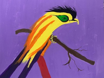 Sell Artworks: Yellow Perrot