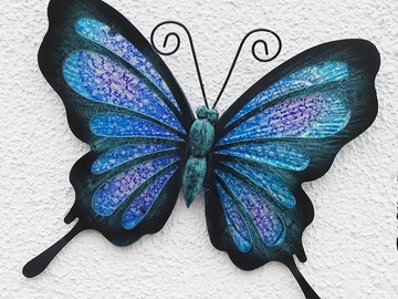 Selling with online payment: Metal Butterfly Wall Decor
