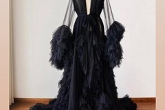 Daily Rental: Black Tulle Gown