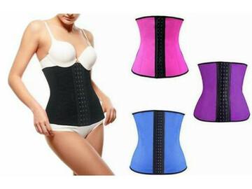 Liquidation/Wholesale Lot: (40) Women's Waist Cincher Shapewear -Thermo Compression-BeautyKo