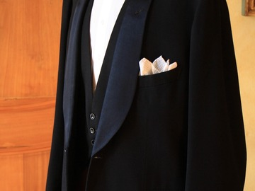 Online payment: Bespoke Midnight blue dinner suit - 44UK/54IT