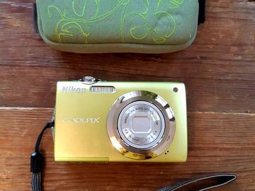 À vendre: Appareil photo digital Nikon Coolpix S3000, problème bloc optique