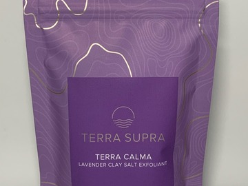 Selling products with online payment: Terra Calma Exfoliating Clay Salts (Case of 10)