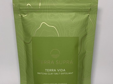 Selling products with online payment: Terra Vida Exfoliating Clay Salts (Case of 10)