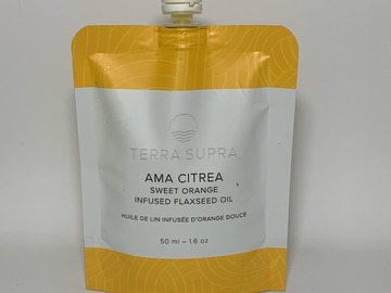 Selling products with online payment: Ama Citrea - Organic Flaxseed Oil Moisturizer (Case of  10)