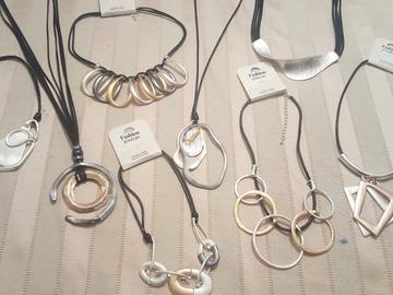 Liquidation/Wholesale Lot: 20 High End Boutique Statement Necklaces Below Wholesale!