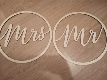 Ilmoitus: Mr ja Mrs vanerilevyt