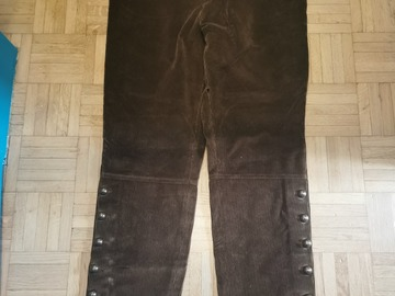 Online payment: Arnys Cholet brown corduroy trousers 42FR / W33