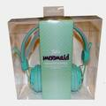Liquidation/Wholesale Lot: Justice Mermaid Headphones with Seashells Over-The-Ear