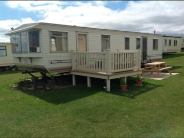 Online & Offline Bookings: 8 Birth 3 Bedroom Caravan - Sandy Bay