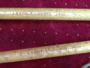 Selling with online payment: Vintage 1950s LEEDY & LUDWIG model 1610 drum mallets