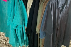 Liquidation/Wholesale Lot: 48 Mens Assorted Style Button Down Shirts Bulk NEW w/tags