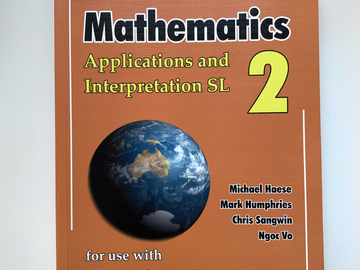 Selling with online payment: Haese Mathematics Applications and Interpretations SL