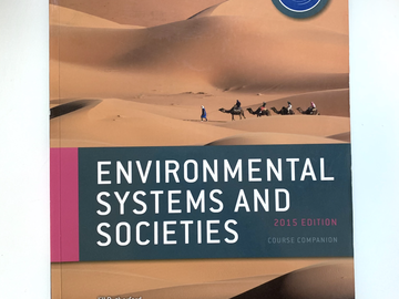Selling with online payment: IB Environmental Systems and Societies (ESS) Course Companion