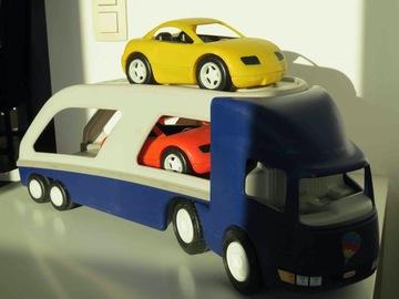 Vente avec paiement en ligne: camion transport deux voitures