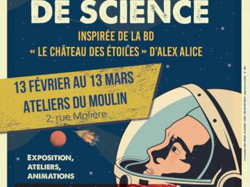 Actualité: Expo de  sciences spatiales