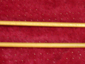 Selling with online payment: 1940s pr Ludwig  8-106 Best-tone felt head rattan handle mallets