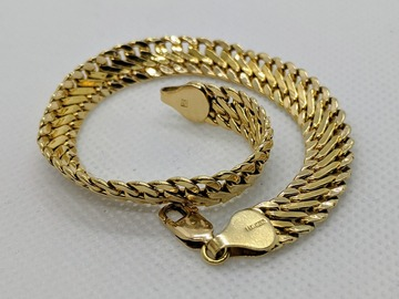 "Other Item: (SOLD) 14K Real Solid Yellow Gold Bracelet 7.5""/6grams"