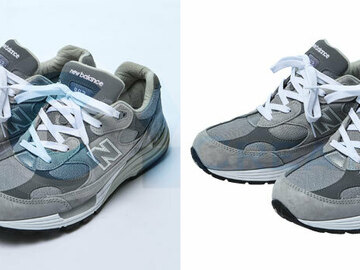 Offering with online payment: Clipping Path