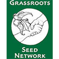 pay online or by mail: $50 donation to Grassroots Seed Network