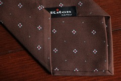 Online payment: Kiton 7 folds tie